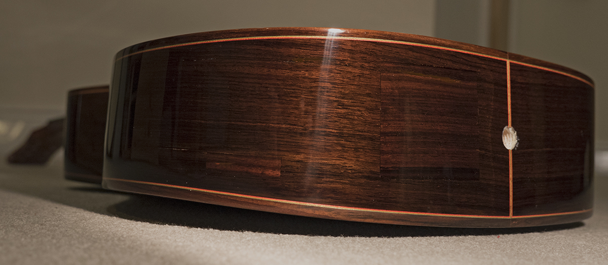 repaired and lacquered 1200